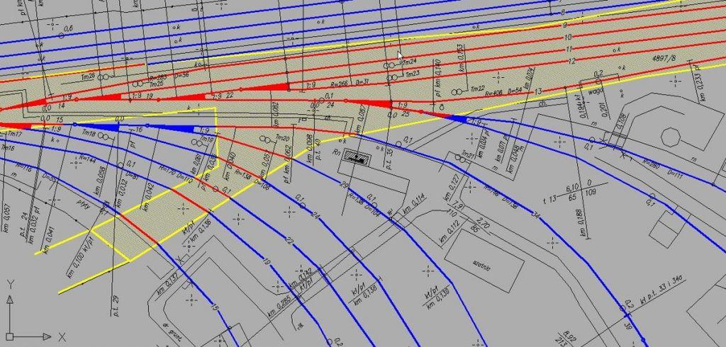 Przykładowy plan bocznicy kolejowej